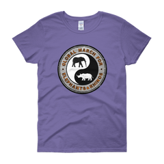 THE GMFER ICON Round Logo Women's short sleeve t-shirt