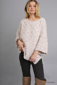 Umgee 3/4 Sleeve Sweater