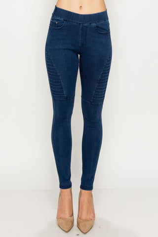 Moto Denim Jeggings