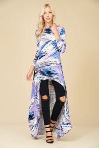 Bohemian Bliss Boutique,Galaxy Hi Low Tunic Top,Tops,Annabelle