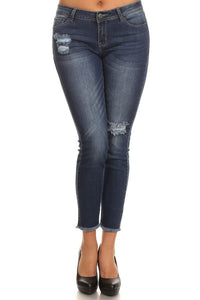Bohemian Bliss Boutique,Delilah Denim Pants,Bottoms,La Vida