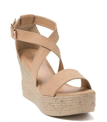 Lara Wedge, Shoes - Bohemian Bliss Boutique