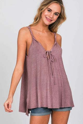 Vintage Wash Cami Tank Top