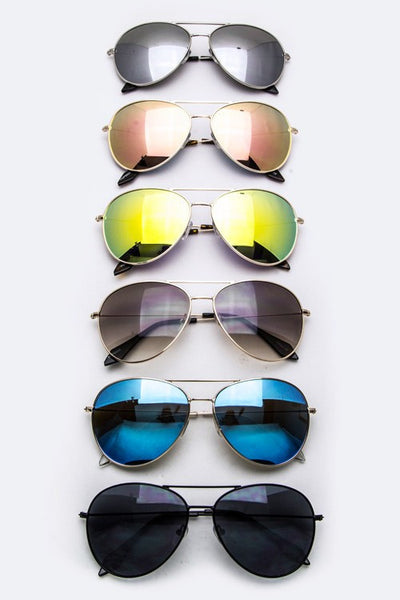 Fashion Aviator Sunglasses - Bohemian Bliss