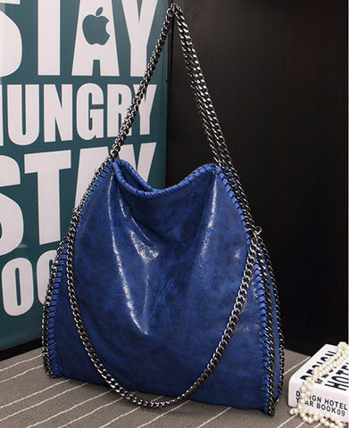 Bohemian Bliss Boutique,Stella McCartney Inspired Nubuck Leather Handbag,Handbags,Bestore Fashion Co., Ltd