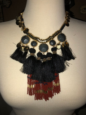 Boho Ethnic Necklace