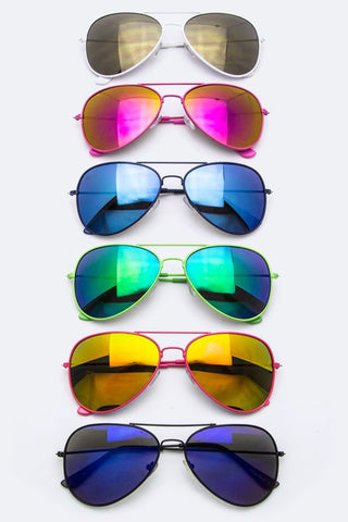 Party Color Fashion Aviators