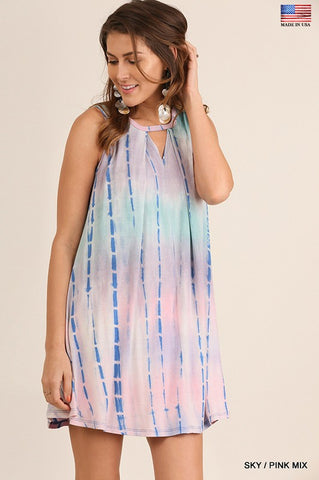 The Esley Tie Dye Dress