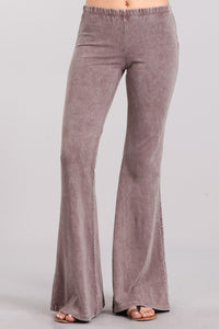 Desert Taupe Mineral Washed Bellbottoms