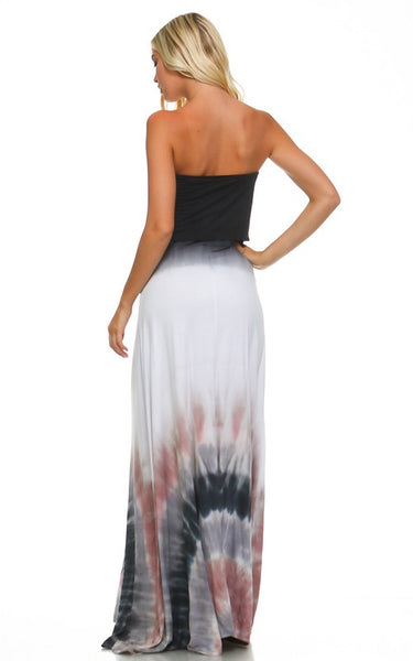 Bohemian Bliss Boutique,Marley Tie Dye Maxi Dress,Dresses,Urban X