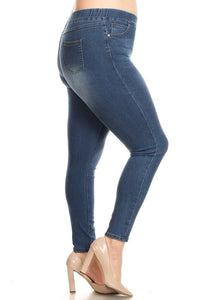 Plus Denim Jeggings