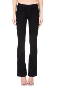 Black Flared Jeggings