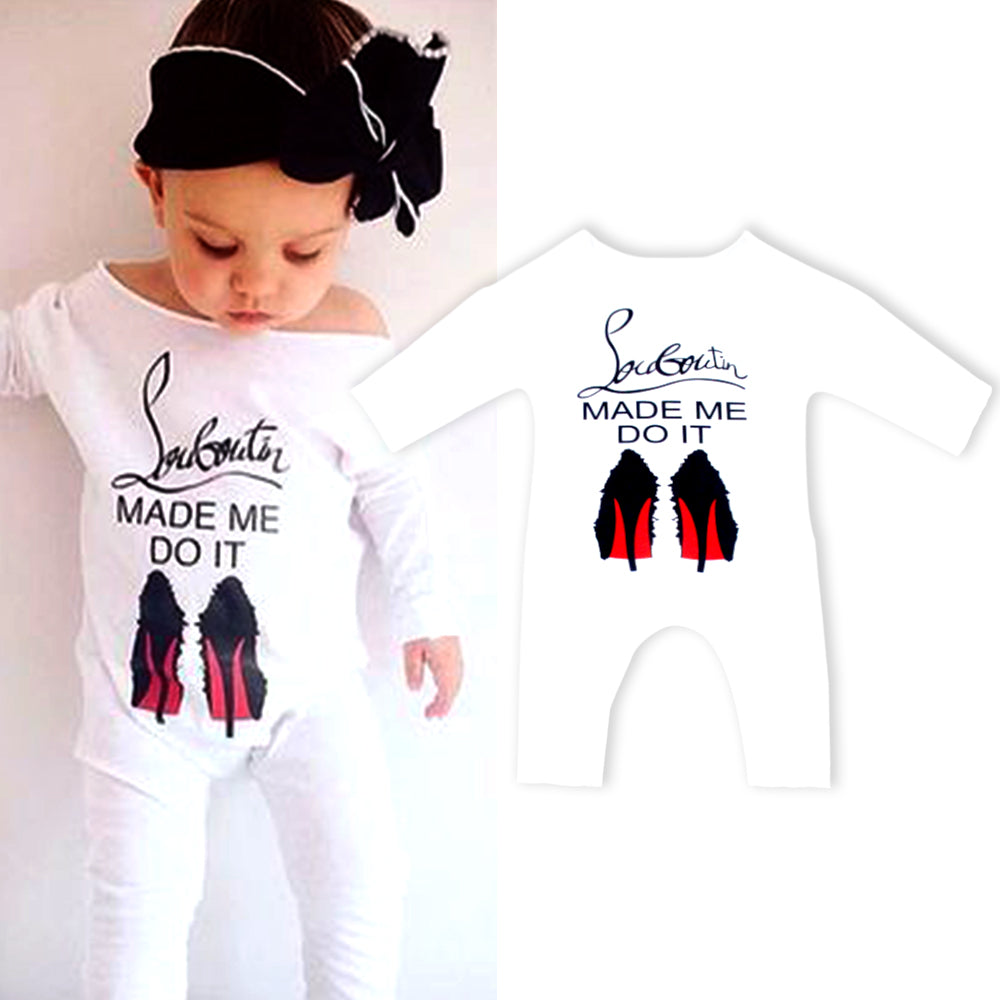 Bohemian Bliss Boutique,Louboutin Made Me Do It Romper,Childrens,La-Fa Store