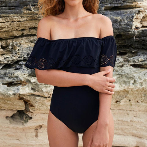 Bohemian Bliss Boutique,Rizzo Ruffle One Piece,One Piece Swimsuits,Sundfotday Swimwear Store