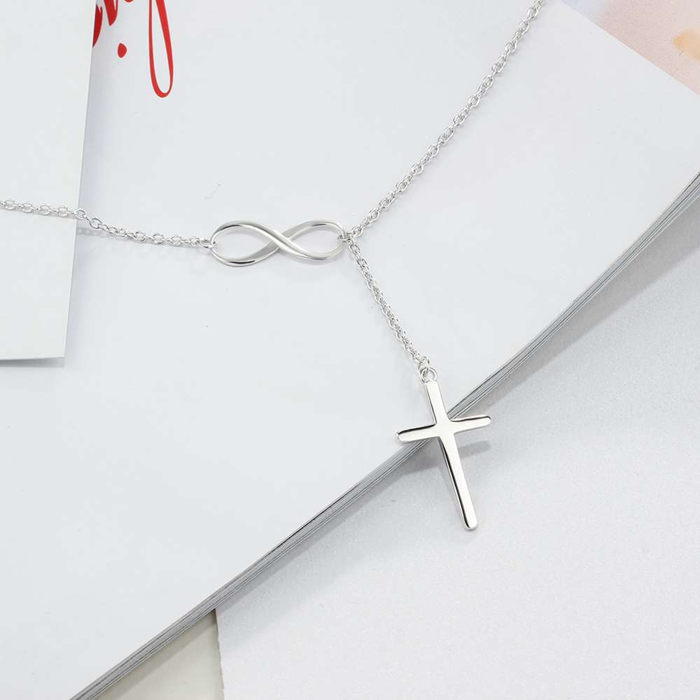 pendant images photo sterling pictures alibaba on necklace latest silver infinity cross
