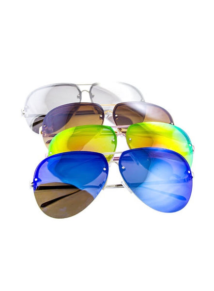 Bohemian Bliss Boutique,Retro Rimless Sunglasses,Gifts,Ocean & Land