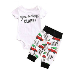 You Serious Clark Baby Romper
