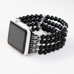 Stretch Faux Pearl Apple Watch Strap, Watches & Accessories - Bohemian Bliss Boutique