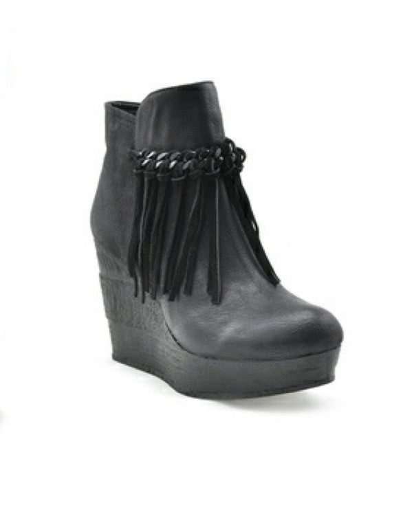 Bohemian Bliss Boutique,Sbicca Zepp Booties - Black,Shoes,Sbicca