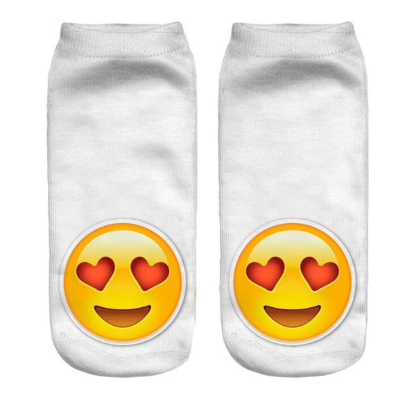 Love Emoji Socks - Bohemian Bliss