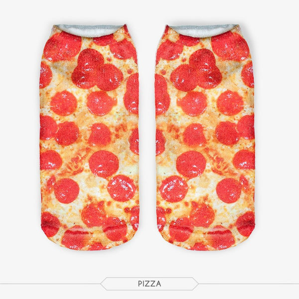 Pizza Ankle Socks - Bohemian Bliss