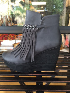 Bohemian Bliss Boutique,Sbicca Zepp Bootie - Grey,Shoes,Sbicca