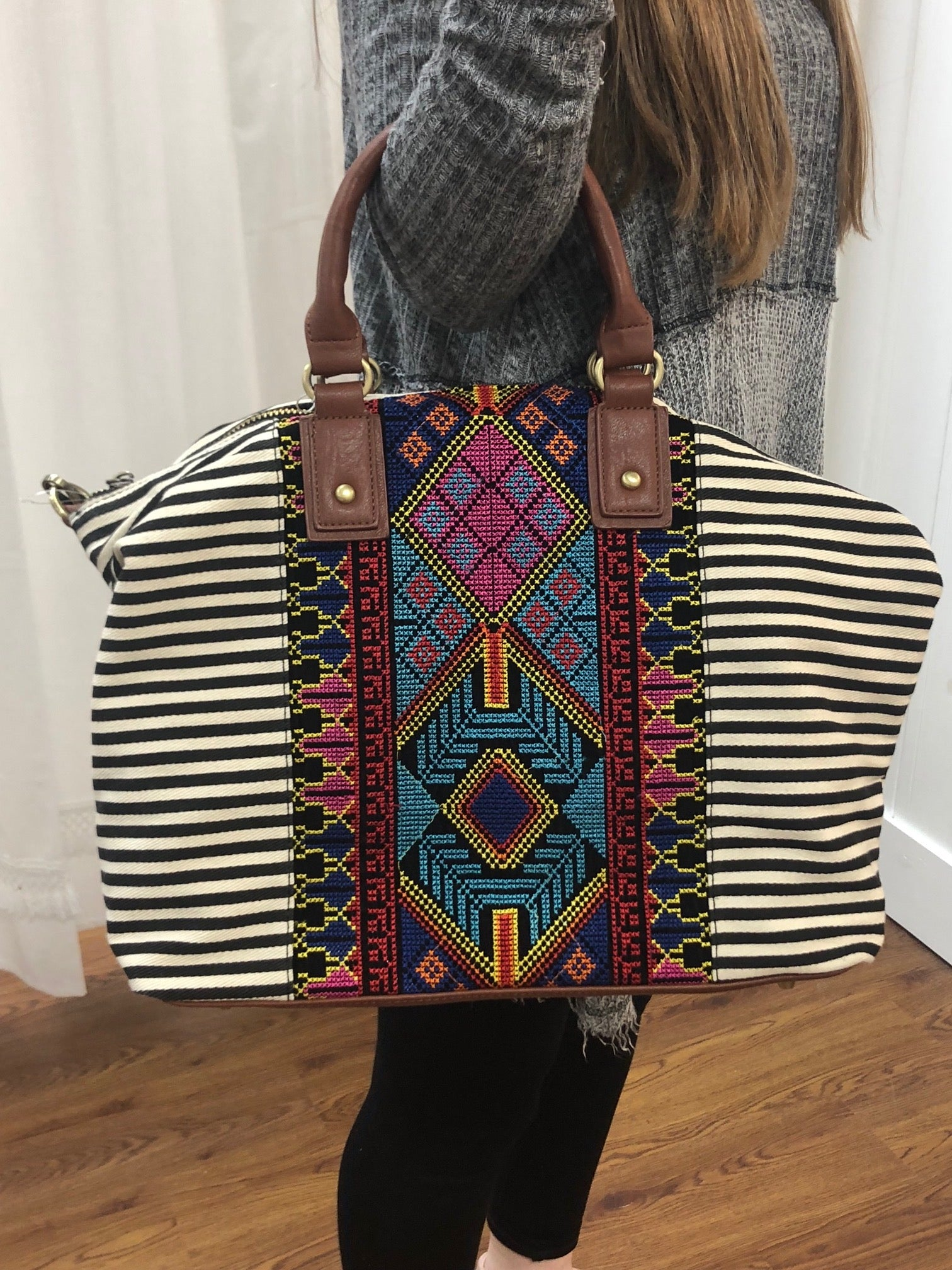 Aztec Handbag ~ Large