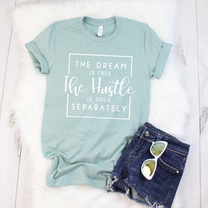 Bohemian Bliss Boutique,The Dream is Free Tee,Graphic T-Shirts,Texas True wholesale