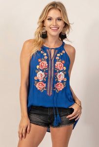 Bohemian Bliss Boutique,Pure Royal Top,Tops,Andree by Unit