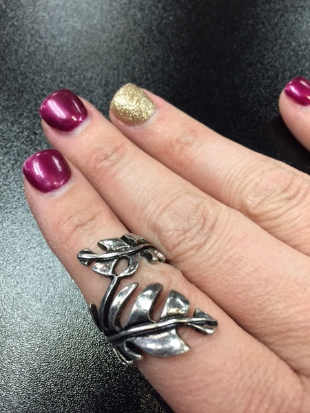 Metal Leaf Ring - Bohemian Bliss