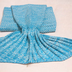 Kids Mermaid Tail Blanket, Gifts - Bohemian Bliss Boutique
