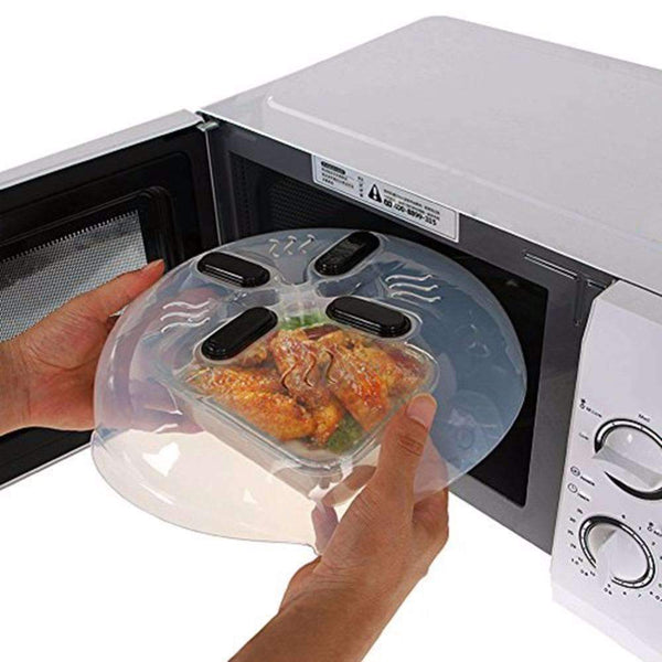 Hover Cover – Microwave Splatter Cover