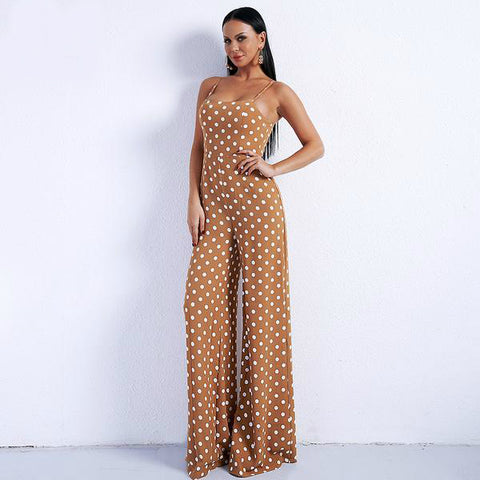 Bohemian Bliss Boutique,Polka Dot Jumpsuit,Jumpsuits,Miss ord Fashion