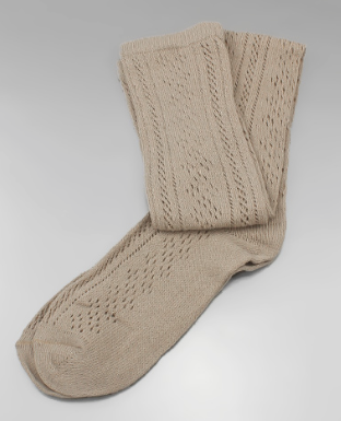 Beige Boot Socks - Bohemian Bliss