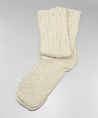 Ivory Boot Socks, Socks - Bohemian Bliss Boutique