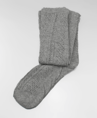 Grey Boot Socks - Bohemian Bliss