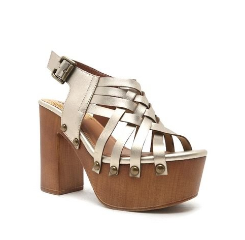 Bohemian Bliss Boutique,Champagne Basket Weave Platform Sandal,Shoes,0 Limit Fashion