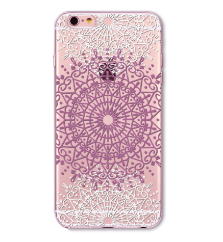 Henna Iphone 6/6s soft Case - Bohemian Bliss