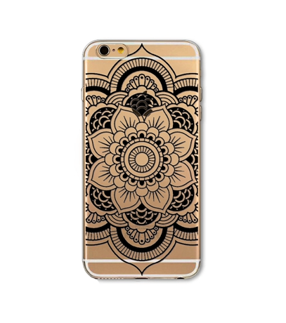 Henna Iphone 6/6s Soft Phone Case - Bohemian Bliss
