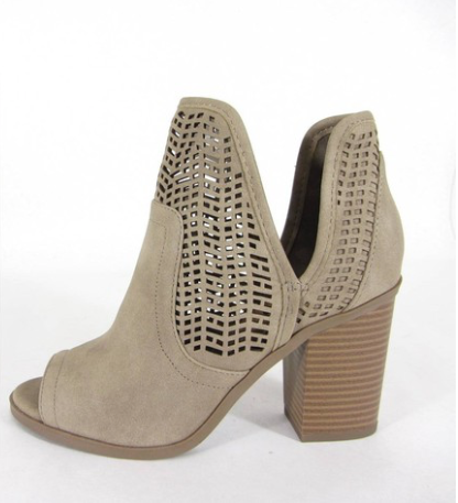 Cathy Bootie, Shoes - Bohemian Bliss Boutique