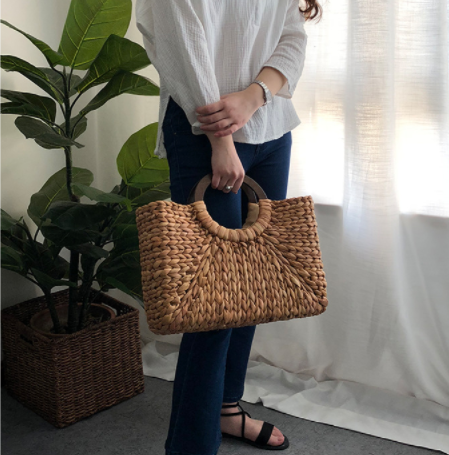 Summer Straw Handbag