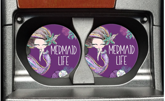 Mermaid Life Car Coaster