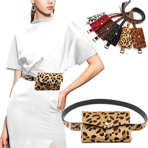 Mini Leopard Fanny Belt