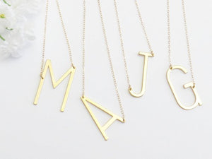 Initial Pendant Necklaces