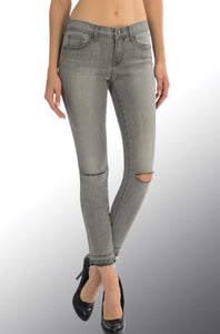 Bohemian Bliss Boutique,Angry Rabbit Cropped Skinny Jeans,Bottoms,Angry Rabbit
