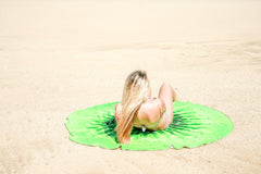 Kiwi Round Beach Towel - Bohemian Bliss