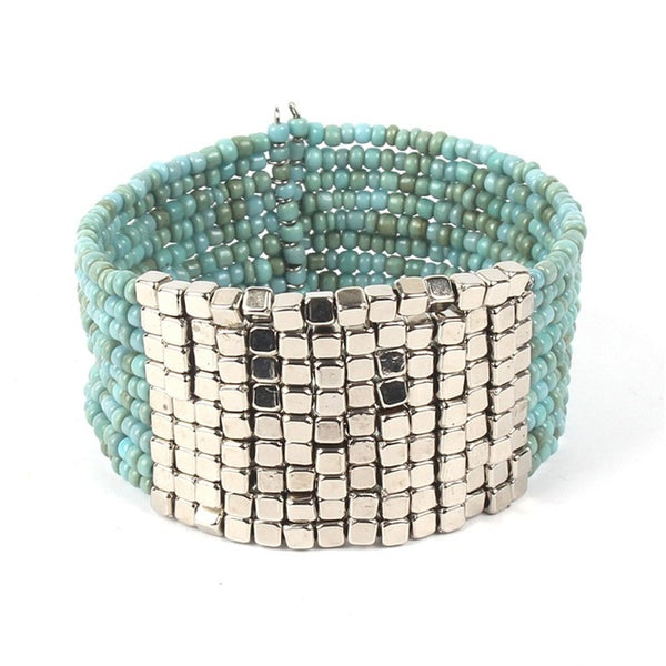 Bohemian Bliss Boutique,Multilayer Wrap Bracelet,Bracelets,AZIZ BEKKAOUI Official Store