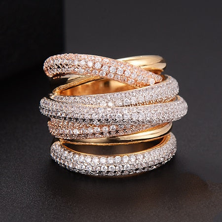 Luxury Wrap Cubic Zirconium Ring