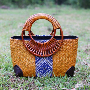 Bohemian Bliss Boutique,Thai Rattan Handbag,Handbags,dollar grow yen Store