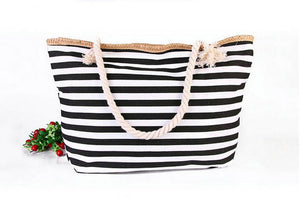 Bohemian Bliss Boutique,Striped Shoulder Beach Bag,Beach Bags,Caijun Trading Co.,Ltd. Store
